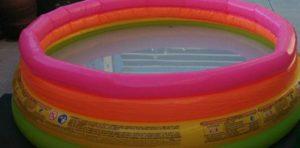 piscina infantil inflable