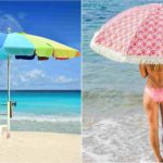 sombrillas grandes playa
