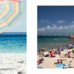 sombrillas de playa leroy merlin