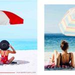 sombrillas de playa carrefour